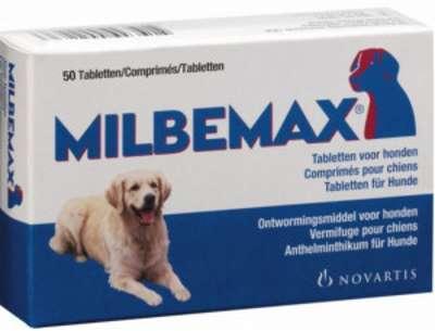 Milbemax Vermifuge Large pour