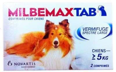 Milbemax Tab vermifuge chien