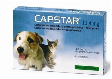 Capstar 11 4mg 6 comprimés