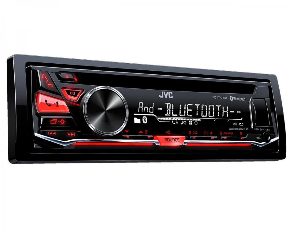 Autoradio CD Bluetooth JVC