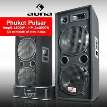Pack Sono DJ Complet Ampli