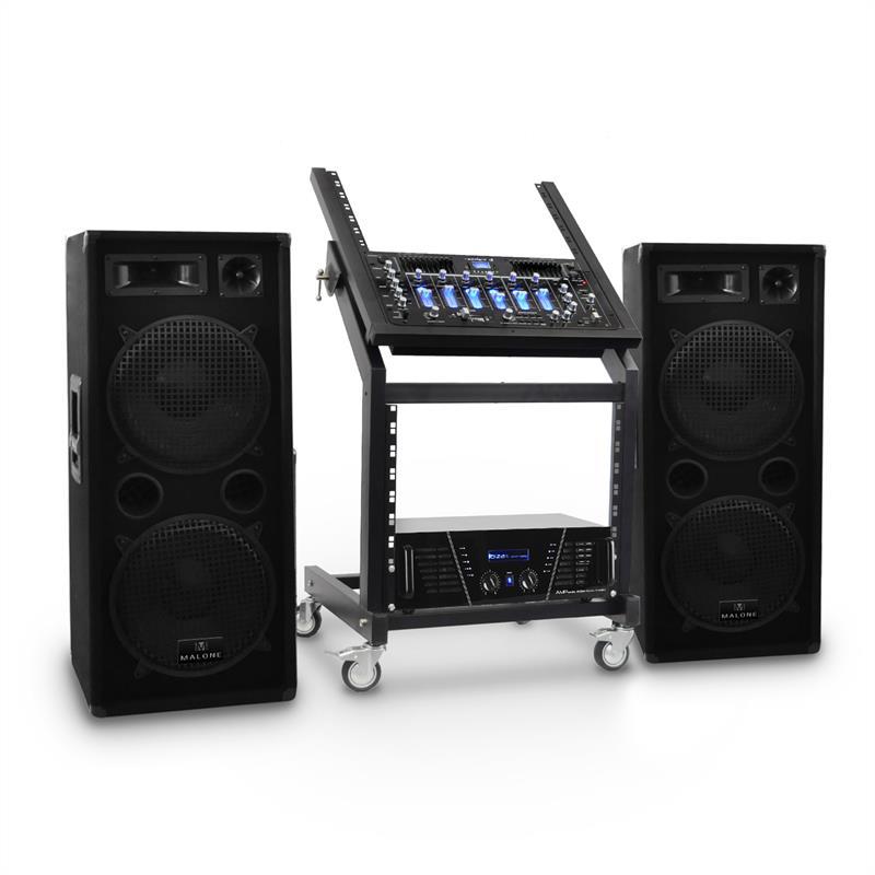 Set DJ PA Rack Star Series