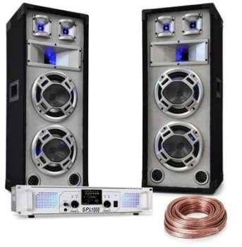 Kit sono DJ White Noise Ampli