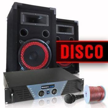 Pack de sonorisation disco