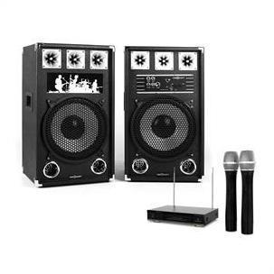 Set Karaoke STAR-12A set enceintes