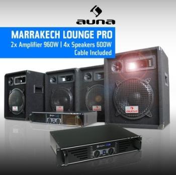 DJ PA pro Pack sono 2 ampli