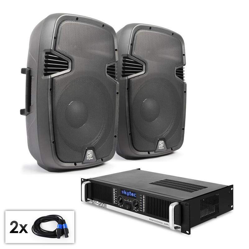 PA Set SPJ Boom 12MKII paire