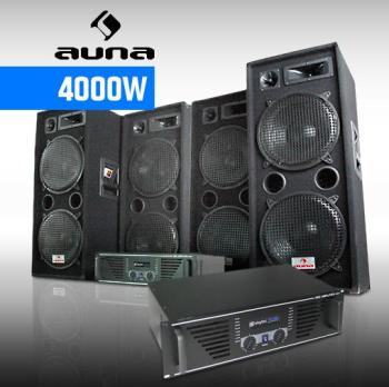Pack DJ Sono Complet 4000W