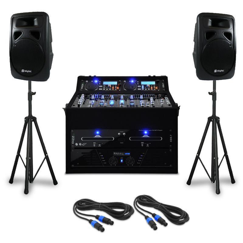 Set DJ PA Punch Line 300 personnes