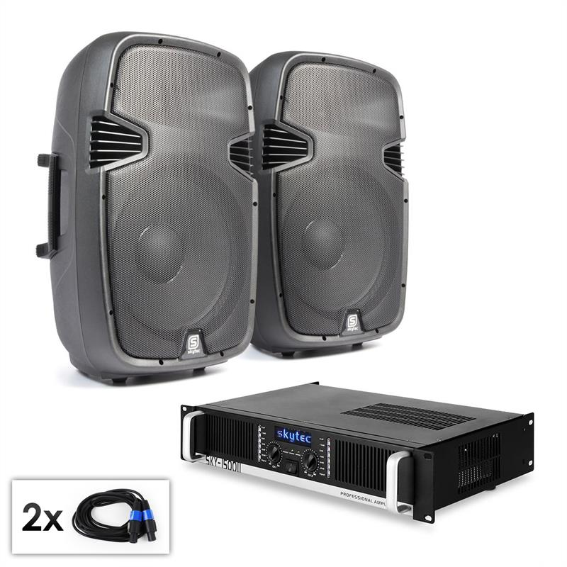 PA Set SPJ Boom 15MKII paire