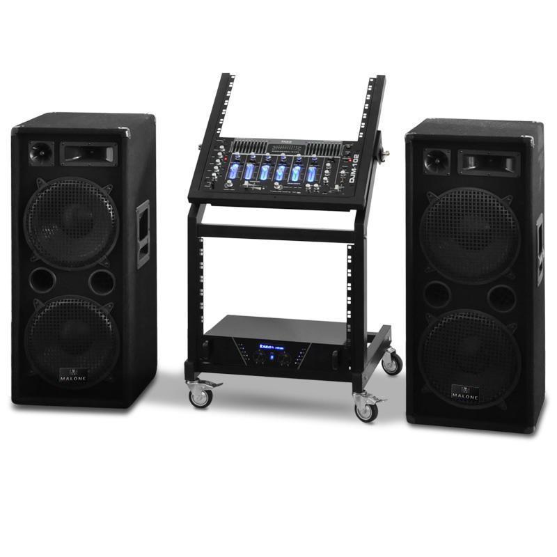 Set sono PA DJ pro Rack Star