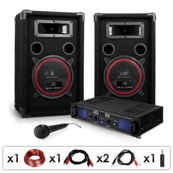Set sono DJ-14 Ampli PA Enceintes