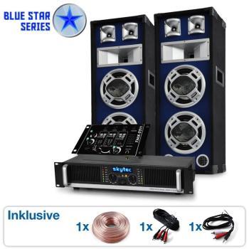 DJ PA Set sono Blue Star Series