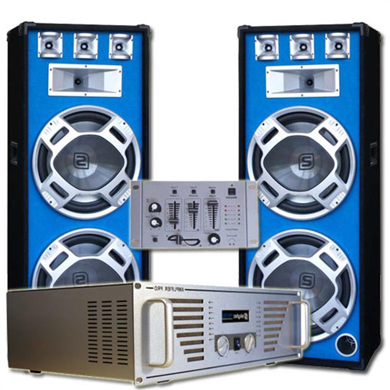 Set DJ complet Bouncer Ampli