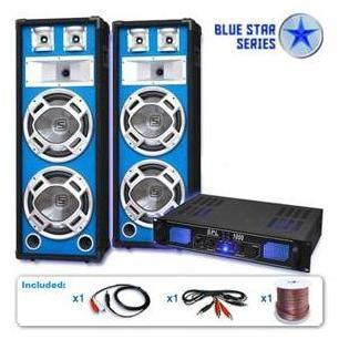 PA Set Blue Star Series Basses