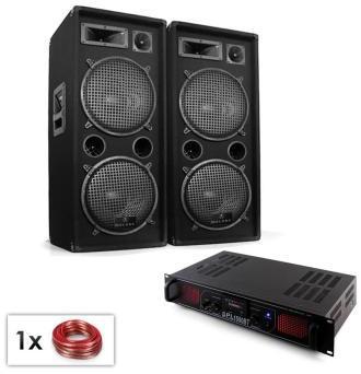 DJ PA Set Malone Bluetooth