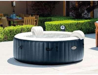 intex spa gonflable purespa jets et bulles octogonal. Black Bedroom Furniture Sets. Home Design Ideas