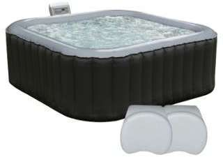 Pack spa gonflable carré 158cm