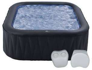 Pack spa gonflable carré 185cm