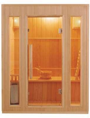 Sauna traditionnel à vapeur