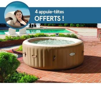 Spa gonflable PureSpa 4 places