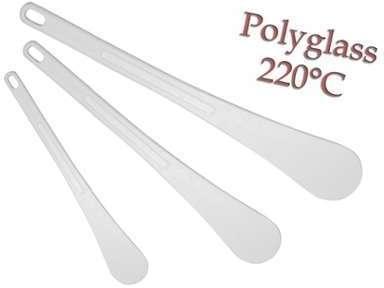 Spatule blanche en polyglass