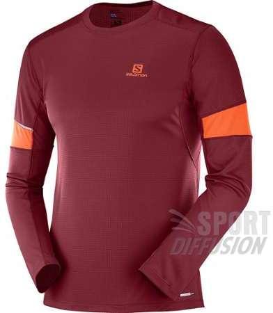 Trail T Blanc Slab Rouge Homme Noir Exo Zip Shirt Salomon OYwHqO