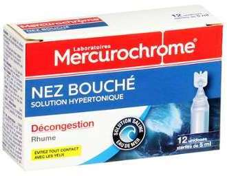 Mercurochrome Solution Hypertonique