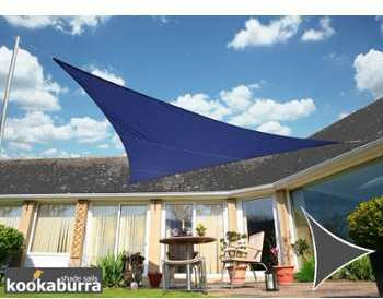 Voile d Ombrage Bleu Triangle