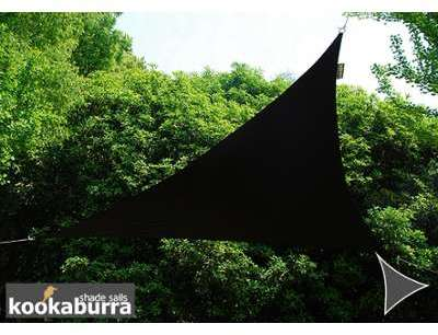 Voile d Ombrage Noir Triangle