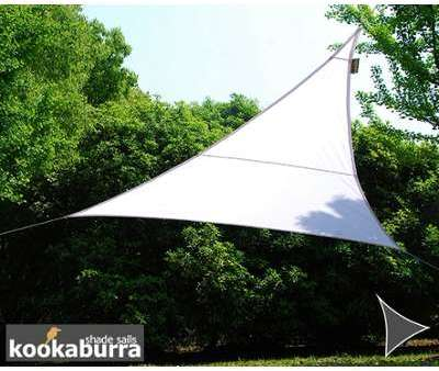 Voile d Ombrage Blanc Triangle