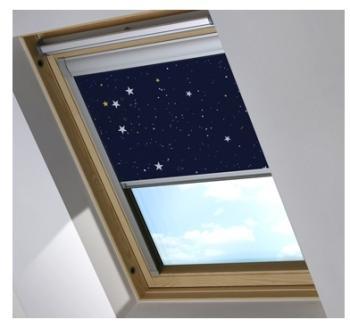 Paul cplafonnier night sky couleur m tal plafonnier for Store occultant sur mesure pour fenetre de toit