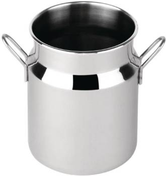 Bidon à Lait Inox 400ml 75x105(h)mm
