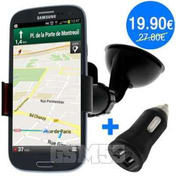 Pack Support Voiture Chargeur