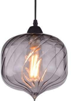 Lampe style loft design verre