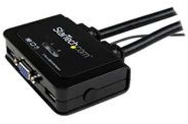 Switch KVM USB VGA à 2 ports
