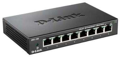 D-LNK Switch 8 ports 10 100mpbs