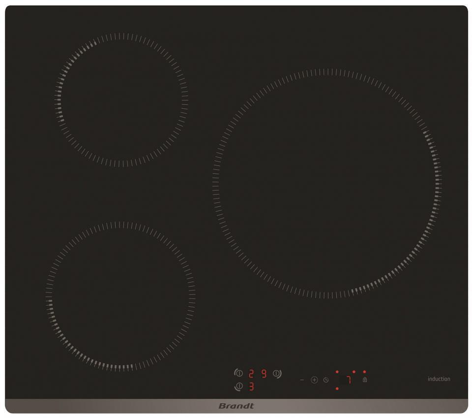table de cuisson induction bpi6315b brandt. Black Bedroom Furniture Sets. Home Design Ideas