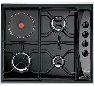 Table mixte whirlpool integrable akm 261 nb for Table cuisson mixte gaz induction grande largeur