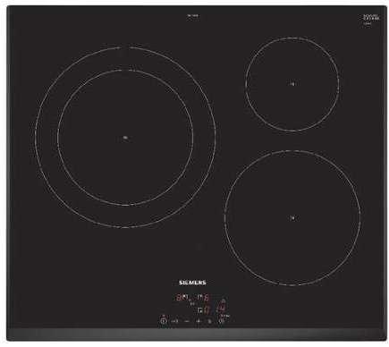 table de cuisson induction siemens 7400 w eh651bjb1e. Black Bedroom Furniture Sets. Home Design Ideas