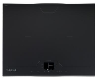 plaque induction de dietrich dti1358dg 4 foyers avec zone de cuisson modulable 65 cm. Black Bedroom Furniture Sets. Home Design Ideas