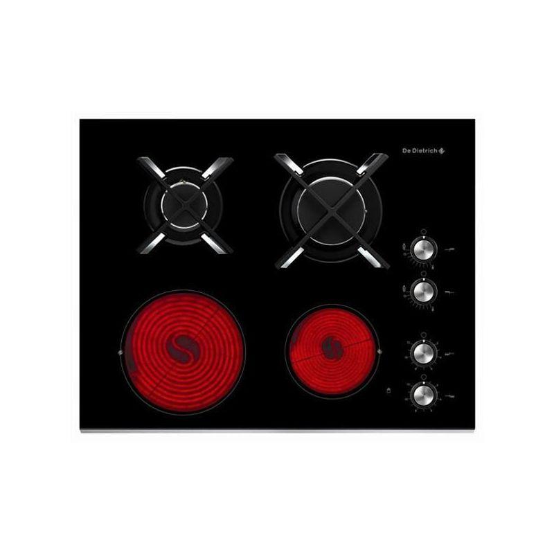 Plaque mixte de dietrich gaz radiant dtg1115x - Plaque de cuisson de dietrich ...