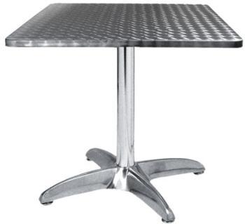 TRA-43C70 Table terrasse alu