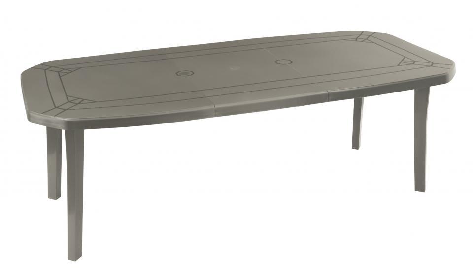 Table miami 220x100 taupe