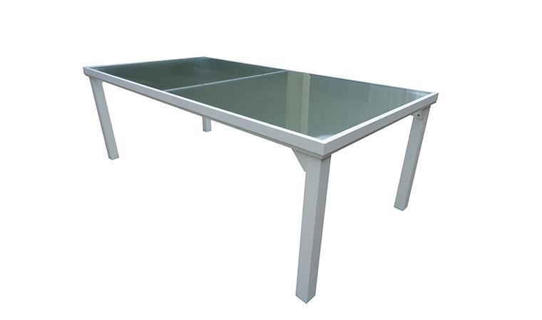 Catgorie table de jardin page 14 du guide et comparateur d 39 achat Table de jardin aluminium blanche