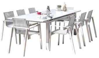 Table de jardin Mykonos 180