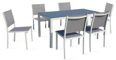 Ensemble table de jardin et