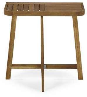 Demi table haute d appoint