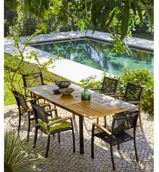 CARREFOUR Table de jardin