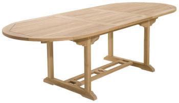 Table de jardin en teck extensible